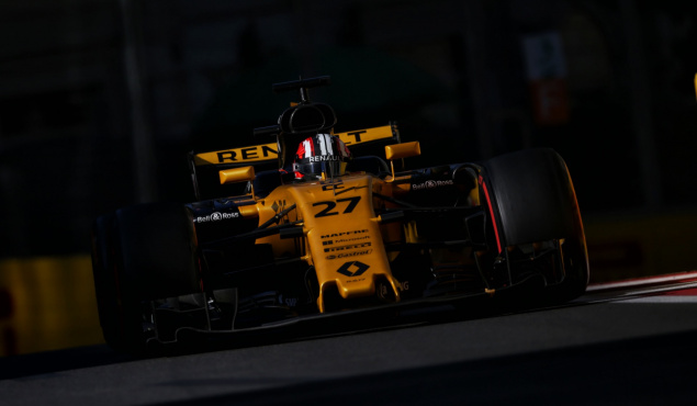 F1 Renault 2017