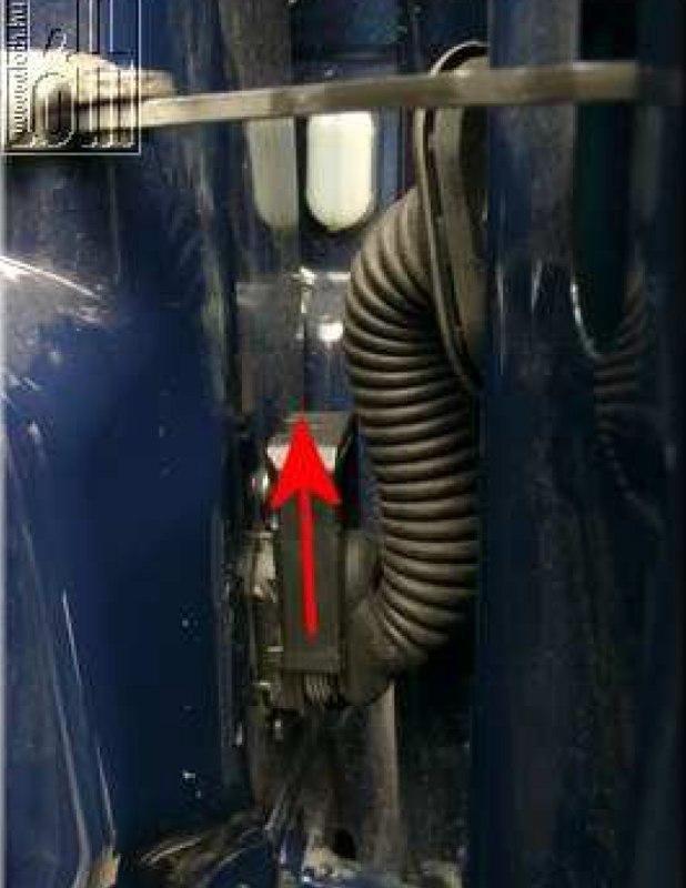 Külső hőmérő gyári megoldással - 7. kép