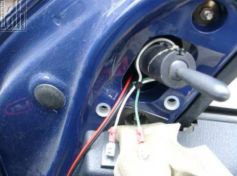 Külső hőmérő gyári megoldással - 13. kép