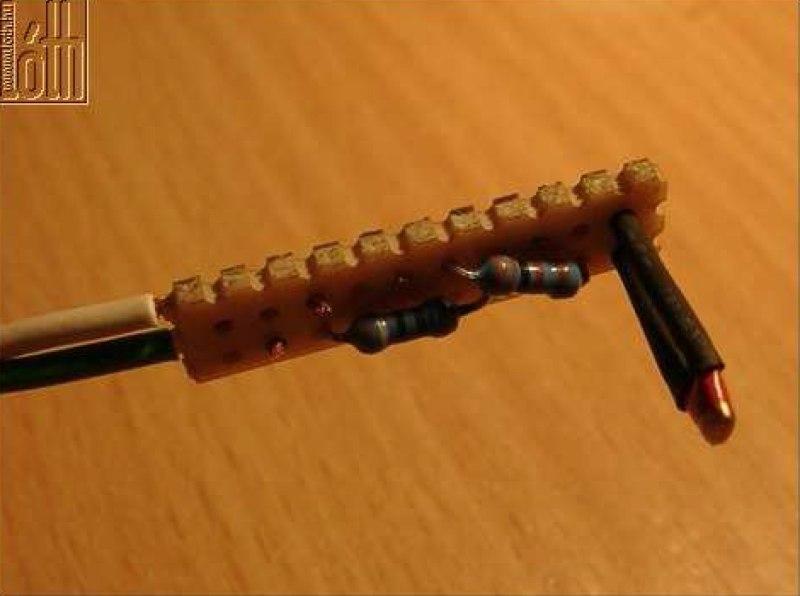 Külső hőmérő gyári megoldással - 16. kép