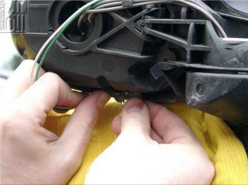 Külső hőmérő gyári megoldással - 21. kép