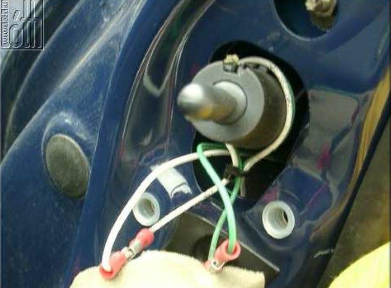 Külső hőmérő gyári megoldással - 23. kép