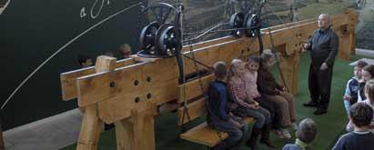 Lebegő vasút - modell