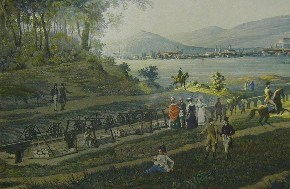 Kőbányai lebegő vasút a XIX. század elején