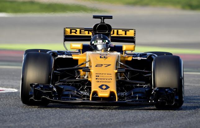 Nico Hülkenberg F1 renault 2017
