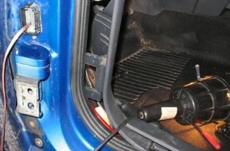 MII hangszóró kábelezés ajtóba | Renault Mégane Klub